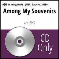 Among My Souvenirs (TTBB) (arr. BHS) - CD Learning Tracks for 203835