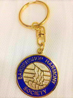 This keychain is emblazoned in gold with the BHS Logo surrounded by a royal blue background to proudly make a bold statement.  It lets folks know you're a proud Member, Associate, or enthusiast when you pull out your keys.  Elegantly designed and exclusively made for BHS members, but can be purchased by BHS fanatics just the same.