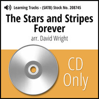 Stars and Stripes Forever (SATB) (arr. Wright) - CD Learning Tracks for 208706