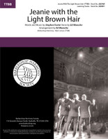 Jeanie With the Light Brown Hair (TTBB) (arr. Waesche)
