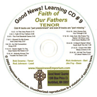 Good News Gospel Learning CD #9 Faith of Our Fathers Tenor
