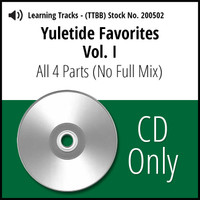 Yuletide Favorites Vol. I Learning CD Kit  (All 4 Parts) (No Full Mix) for 210860