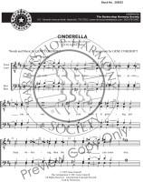 Cinderella (TTBB) (arr. Cokeroft)