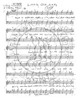 Little Old Lady (TTBB) (arr. Mac Huff)-Download-UNPUB