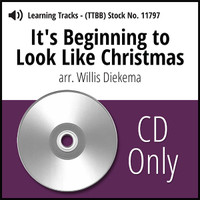 It's Beginning to Look Like Christmas (TTBB) (arr. Diekema) - CD Learning Tracks CD for 7009