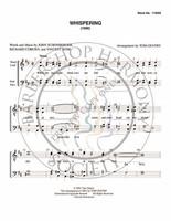 Whispering (TTBB) (arr. Tom Gentry)-Download-UNPUB