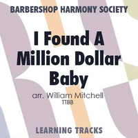 I Found A Million Dollar Baby (TTBB) (arr. Mitchell) - CD Learning Tracks for 8815