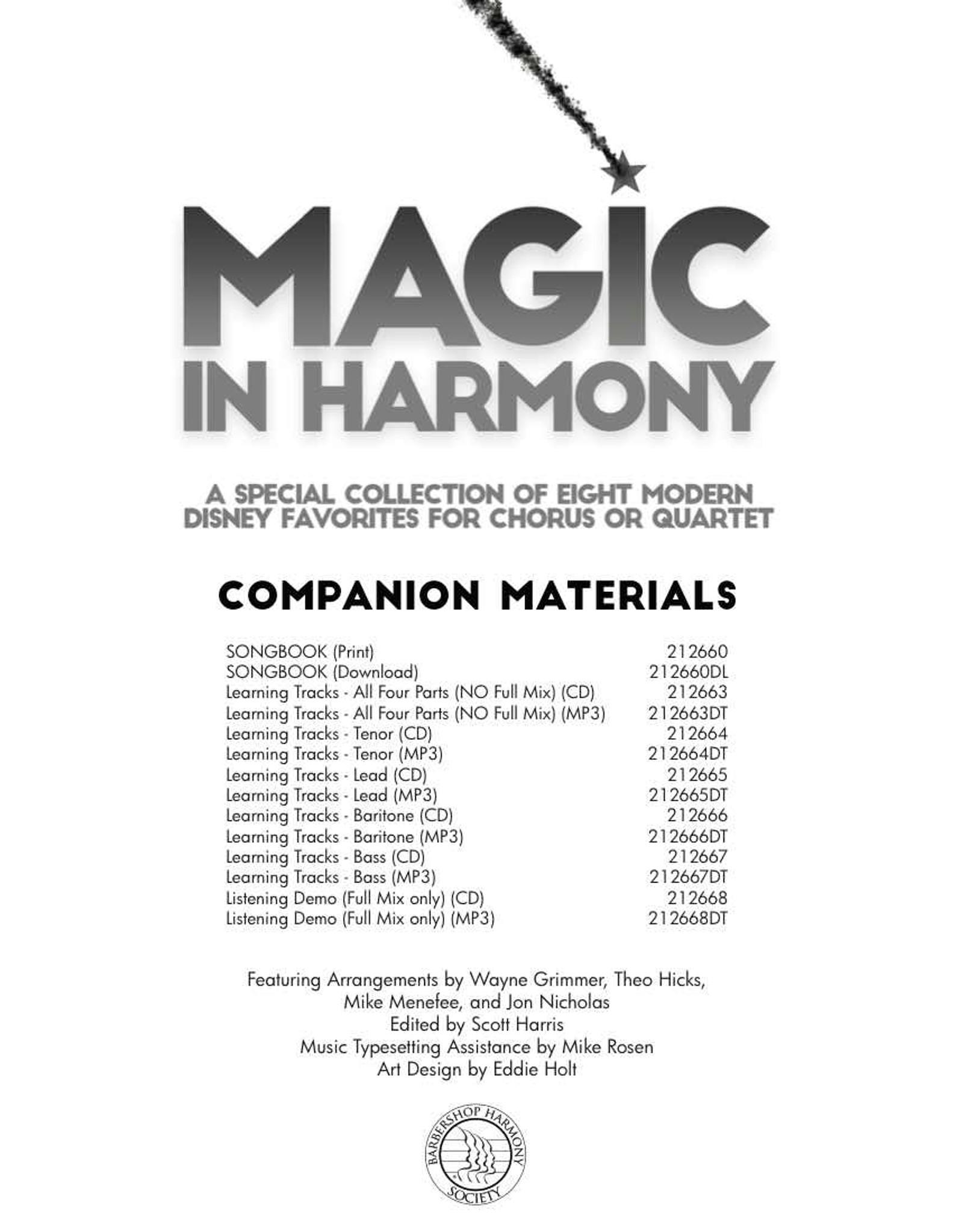 Magic in Harmony - Songbook