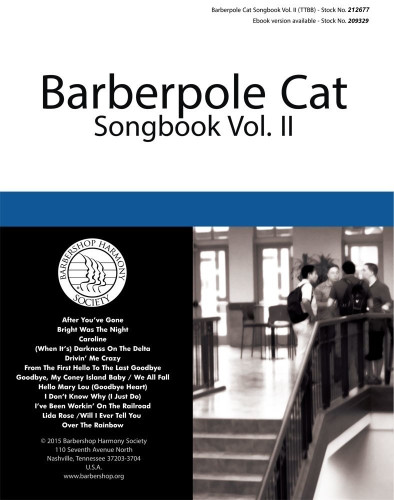 Barberpole Cat Songbook Vol. II - Print