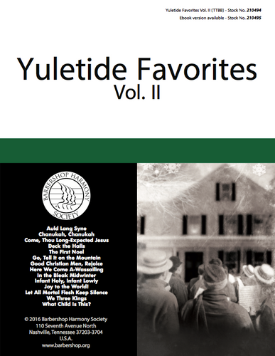 Yuletide Favorites Vol. II Songbook
