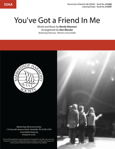 You've Got a Friend in Me (SSAA) (arr. Wessler)