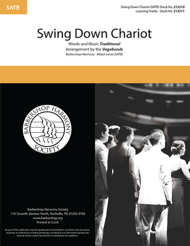 Swing Down Chariot (SATB) (arr. The Vagabonds)