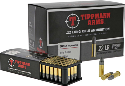 Tippmann Arms .22LR Standard Velocity Ammunition - 500 round Box