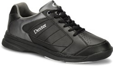 DEXTER MENS RICKY IV BLACK/ALLOY (REGULAR AND WIDE WIDTH)