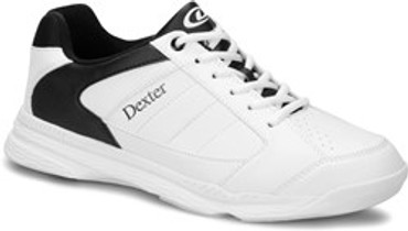 DEXTER MENS RICKY IV WHITE/BLACK (REGULAR AND WIDE WIDTH)
