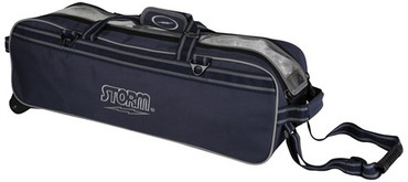 Storm 3 Ball Tournament Travel Roller/Tote Navy