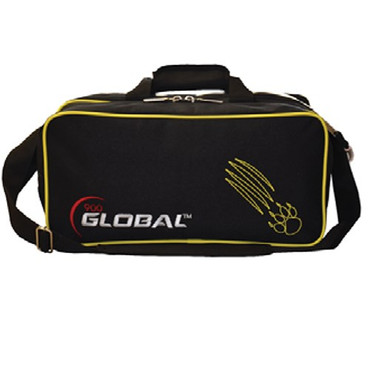 900 Global 2 Ball Travel Tote Black/Gold Claw