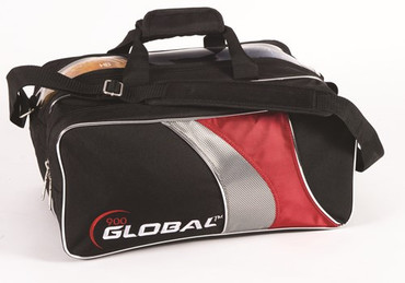 900 Global 2-Ball Travel Tote - Black/Red