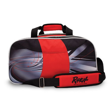 Radical Dye-Sub Double Tote Black/Red