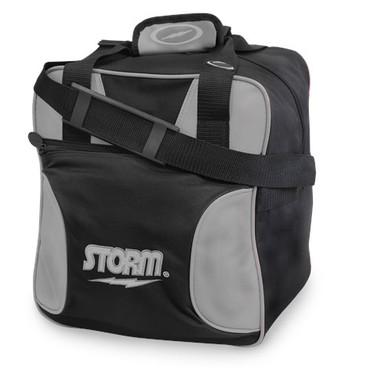1 Ball Storm Solo Tote Black/Silver