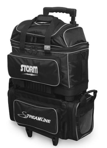 Storm Streamline 4 Ball Roller Black/Silver