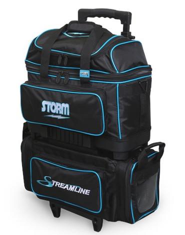 Storm Streamline 4 Ball Roller Black/Blue
