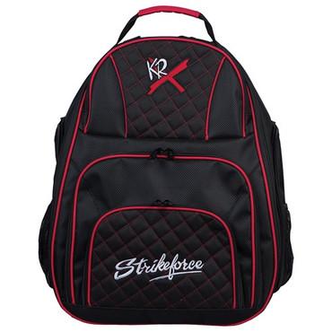 KR Strikeforce Royal Flush Deuce 2 Ball Backpack Black/Red