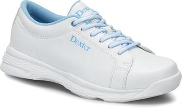 Dexter Girls Raquel V Jr. White/Blue