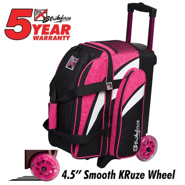 2 Ball KR Cruiser Smooth Roller Pink/White/Black