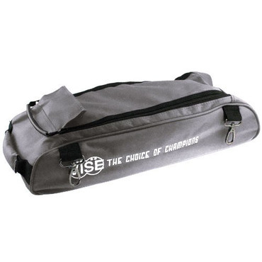 "The Vise Add-On bag can be used to attach to the Vise 3 Ball ""Clear Top"" Tote Roller. This bag has clips that allow it to attach to the Vise Roller/Tote for easy transport. The large size of the bag allows it to accommodate varying sizes of shoes. This add-on bag also helps traveling come easier  Designed with 1680 durable denier matt (nylon) fabricClips on the to the Vise 3 Ball ""Clear Top"" Tote RollerLarge storage area to fit varying shoe sizesDurable zippersReinforced stitching5-year limited manufacturer's warranty"