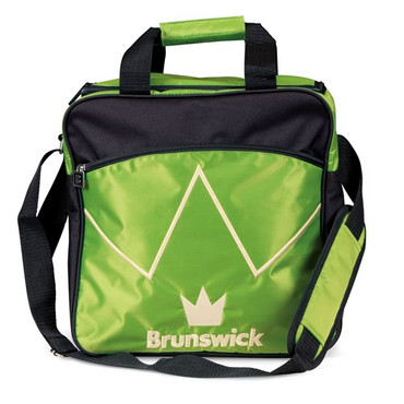 1 Ball Brunswick Blitz Tote Lime