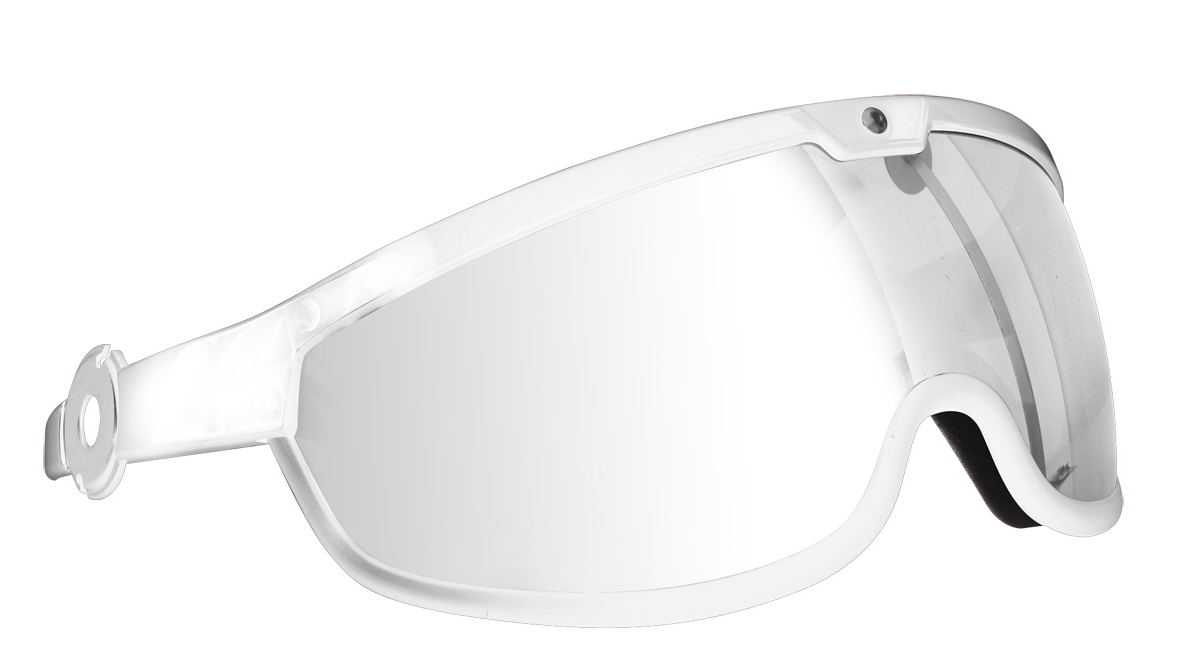 White Frame w/ Clear Lens