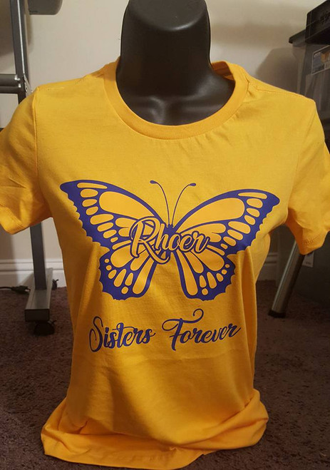Gold Rhoer Sisters Forever Tee