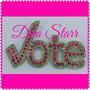 Pink & Green Vote Pin