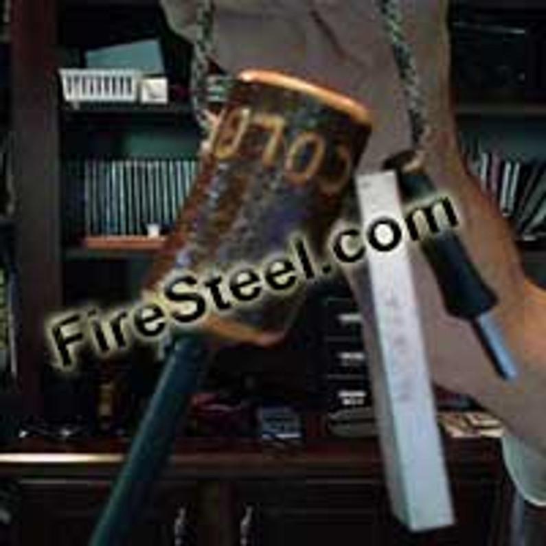 Make a Baked Wood FireSteel Handle