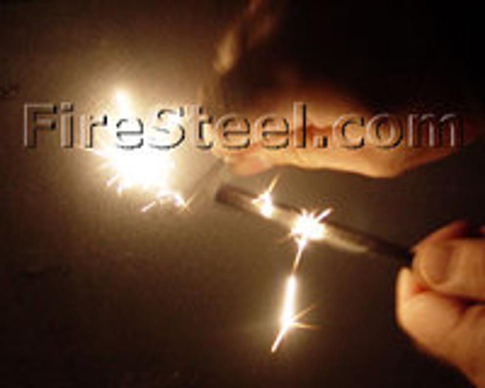 Super Sparks from FireSteel.com FireSteels