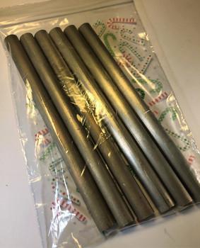 """3/8"""" x 5"""" Magnesium Tinder Rods 6pc Special!"""