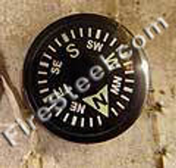 These are HIGH QUALITY button compasses.  Beware- many button compasses are cheaply made and very inaccurate.  If you are going to carry a button compass, it probably should point in the right direction!