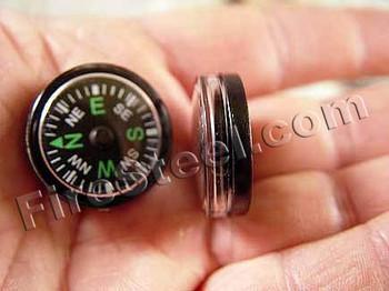 25mm Button Compass