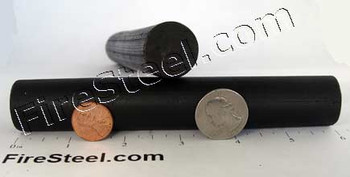 More than one pound of FireSteel. Pass this FireSteel.com FireSteel on to your great-grandchildren.