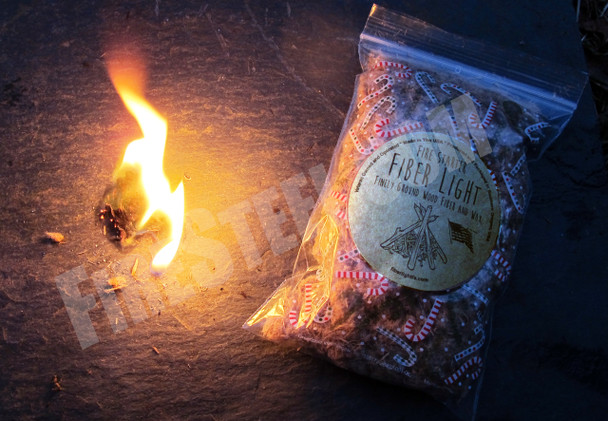 NEW!  FireSteel.com is proud to introduce the Fiber Light Fire Starter, an amazing new line of wood-based tinder.  If you can't start a fire using Fiber Light Fire Starter you have no business playing with fire.