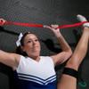 Cheerleader Stretch with Stunt Strap