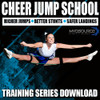 "Free with the purchase of Cheer Kinetic Bands. Our ""Cheer Jump School"" Training Series is designed to help cheerleaders improve flexibility and fitness through resistance training. Each section is easy to follow; watch and/or download to your computer or smartphone."