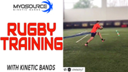 Maximize Rugby Speed with Myosource Kinetic Bands resistance training.