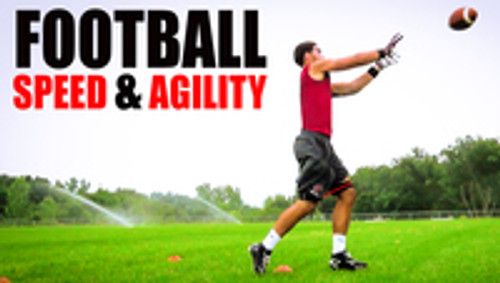 Football Resistance Training -  Quick Feet Speed & Agility with Myosource Kinetic Bands
