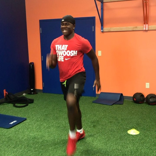 Explosive A-Skip Speed & Agility Training with Resistance Bands / Myosource Kinetic Bands
