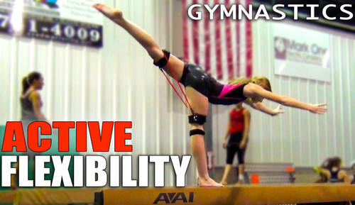 Gymnastics Dynamic Warm Up and Stretching with Myosource Kinetic Bands