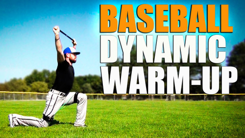 Baseball Dynamic Warm-Up with Myosource Kinetic Bands / Resistance Bands