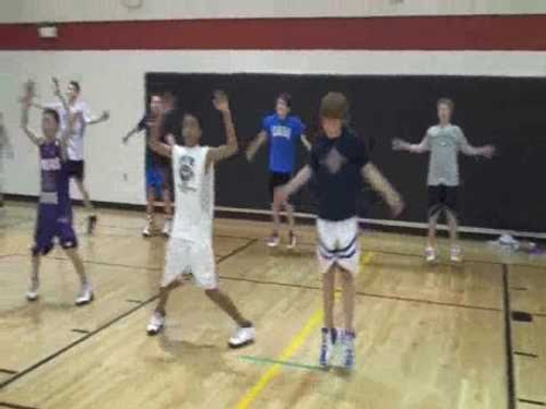 BASKETBALL - LATERAL QUICKNESS