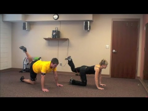 Quick 10 Minute Cardio Fitness Workout You Can Do At Home with Myosource Ultimate Kinetic Bands / Resistance Bands